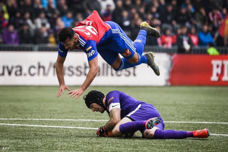 A Thun és a Basel bajnoki mérkőzése 2019. szeptember 15-én