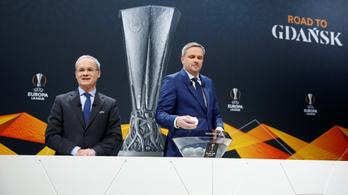 A Sevilla az AS Romával találkozik az Európa Ligában