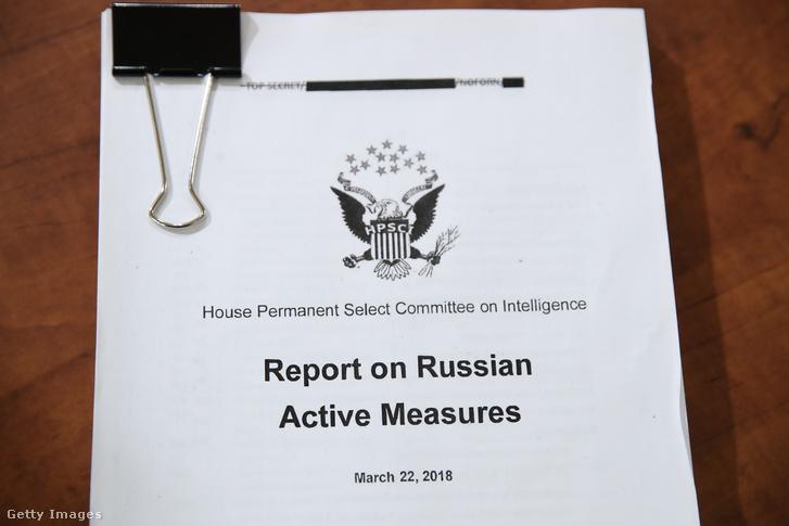 A 2016-os amerikai elnökválasztásba való orosz beavatkozásról szóló jelentés a képviselőházi hírszerzési bizottság ülésén 2019. november 19-én