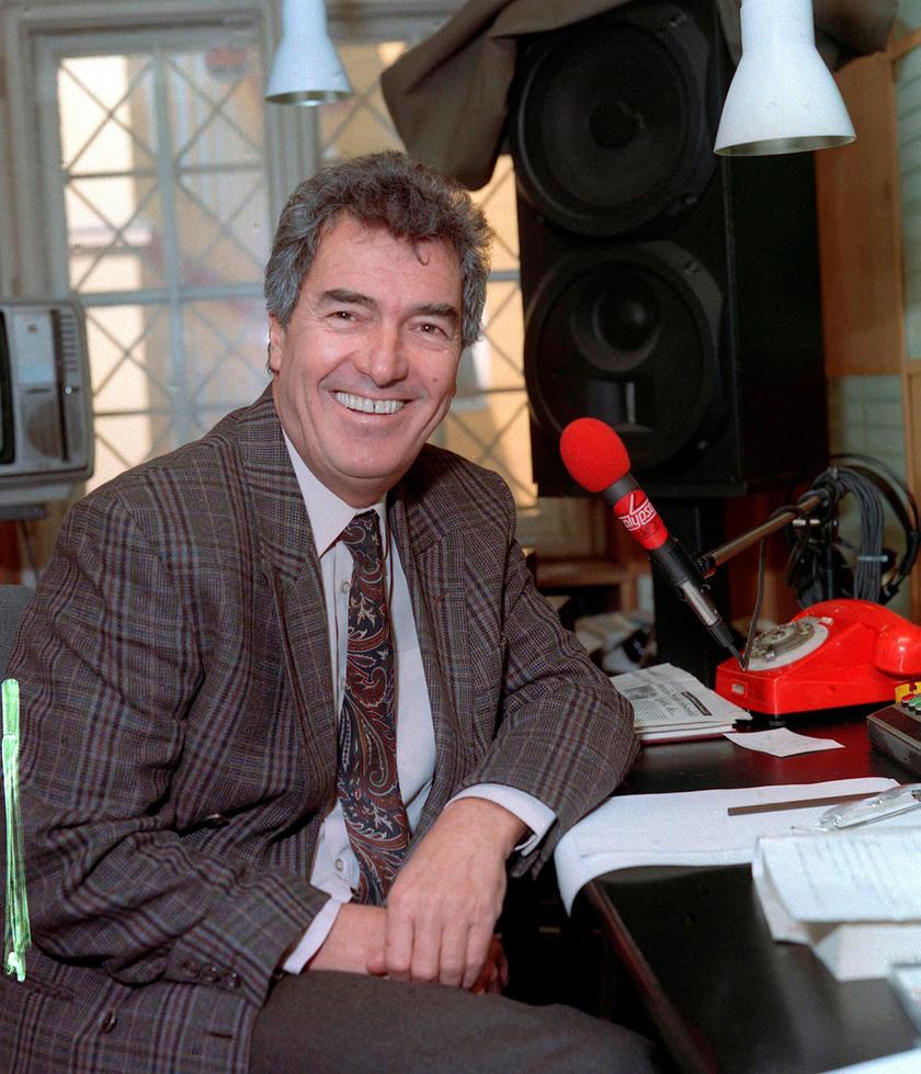 Szilágyi János a Calypso Rádió szerkesztő-műsorvezetőjeként 1994-ben