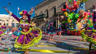 A máltai karnevál főszereplője Donald Trump volt