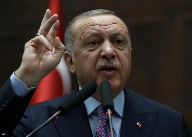 Recep Tyyip Erdoğan török elnök
