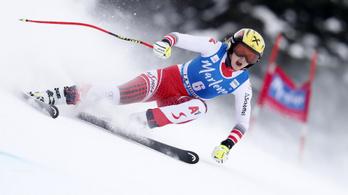 Egyetlen század előnnyel nyert az olimpiai bajnok lánya az alpesisí-világkupán