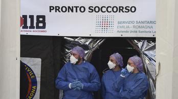 Teljesen megteltek Cremonában a kórházi férőhelyek koronavírusos betegekkel