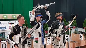 Péni István aranyat nyert a sportlövő-Eb-n