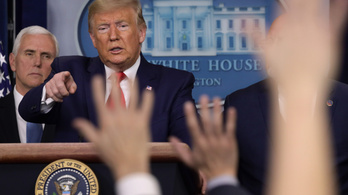 Donald Trump nem tart attól, hogy koronavírussal fertőződhetett meg