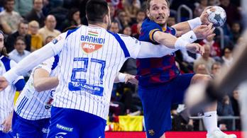 Kézi-BL: megszorongatni igen, de legyőzni nem tudta a Barcelonát a Szeged