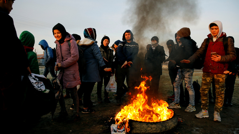 Erdoğan Európa felé indította a menekülteket