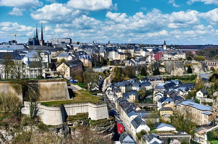 A luxemburgi nagyhercegség fővárosa, Luxembourg