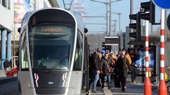 Luxemburg ingyenessé tette a tömegközlekedést
