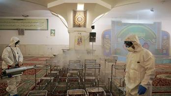 Koronavírus: Iránban felével nőtt a fertőzöttek száma, de sokkal rosszabb lehet a valós helyzet