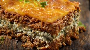 Kóstoltad már a lasagnét extra sajtos-ricottás réteggel?