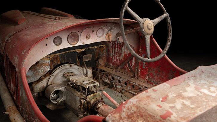 Dehai News Restoration Begins On Mussolini S Alfa 6c 1750 Ss