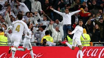 Mariano beállt, 50 másodperc múlva bebiztosította a Madrid győzelmét