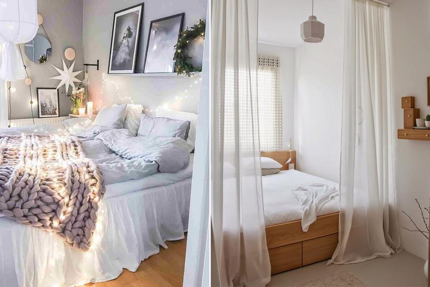 Álomszép mini hálókat mutatunk: amikor csak egyetlen ágynyi helyed van