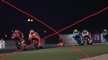 A koronavírus miatt törölték a MotoGP katari futamát