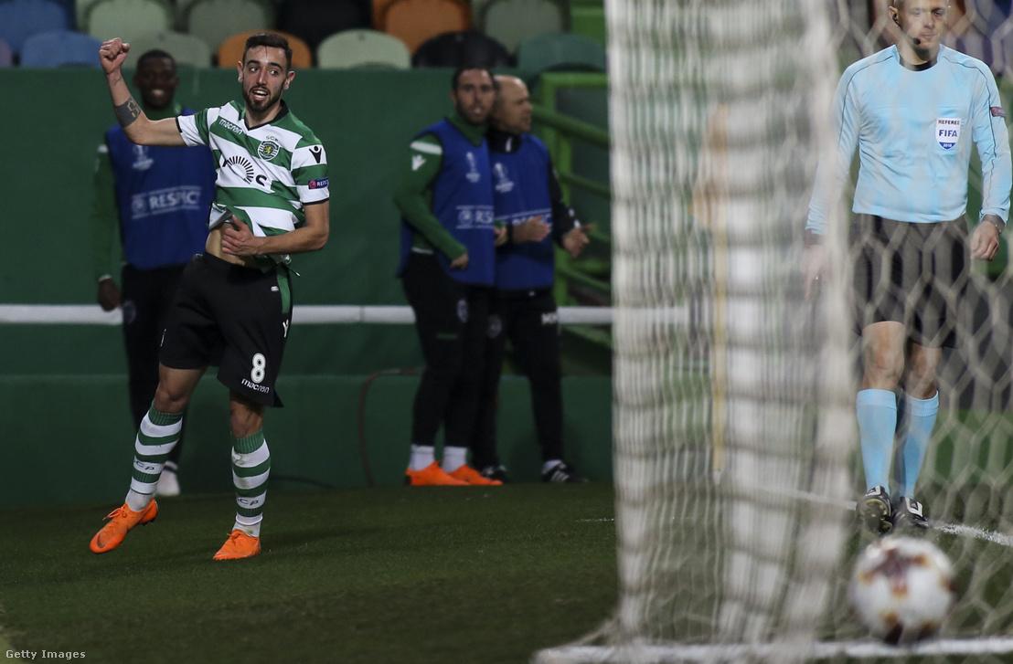 A Sporting játékosaként gólt szerez a UEFA Európa-liga FK Astana ellen játszott mérkőzésen Lisszabonban 2018. február 22-én.