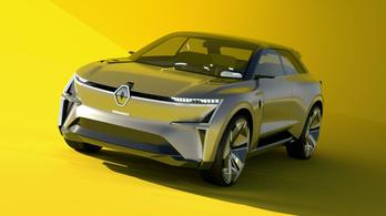 Megnyújtható autót mutatott a Renault