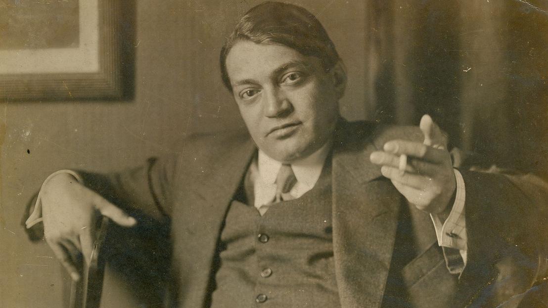 Ady Endre, 1913 (Székely Aladár felvétele)