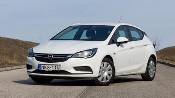 Használtteszt: Opel Astra K 1,6 CDTi Automatic - 2015.
