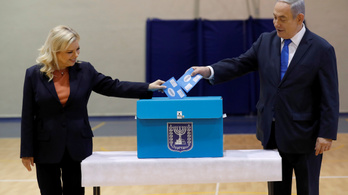 Izraeli exit poll: 11 hónapon belül harmadszor is nyert Netanjáhu pártja