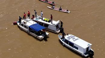Félszáz halottja is lehet a brazíliai hajóbalesetnek