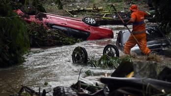 Négy ember meghalt a heves esőzések miatt Brazíliában