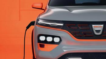 Bemutatkozik a Dacia első villanyautója