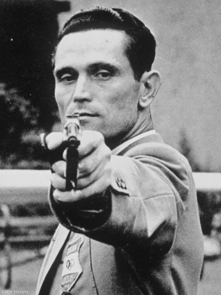 Takács Károly az 1948-as olimpián