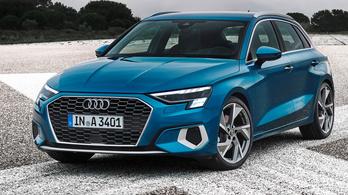 Igazi agresszornak látszik az új Audi A3-as