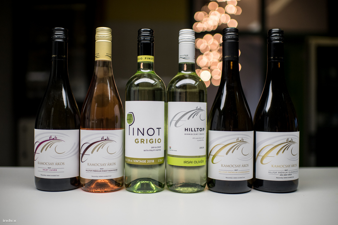 Kezdetben főként felvásárolták a szőlőt, de később elkezdtek inkább saját földön saját szőlőt telepíteni. Olyan fajtákat kerestek, amik kedvelik a borvidék földjét, de exportra is jól működnek: ebből lett 8-10 fajta szőlő, köztük például a királyleányka, a szürkebarát, a sárgamuskotály, az olaszrizling vagy a cserszegi fűszeres. Magyarországon a legnépszerűbb borfajtájuk az Irsai Olivér, míg Angliában a szürkebarátot veszik a legjobban tőlük. Belföldön két borcsaládot árulnak, az 1100-1200 forint körül mozgó Hilltopot és 2000 forintos prémium borcsaládot, illetve adnak el bag-in-boxokat is. A valaha volt legnépszerűbb boruk az a cserszegi fűszeres volt, ami az év fehérbora is lett 1997-ben Angliában: ennek a címkéjére csak hátulra írták rá a cserszegi fűszerest, mert ezt a britek nem tudták kimondani. Így Woodcutters Wine lett a bor neve, ami végül nemcsak kint, de Magyarországon is nagy sikert aratott.