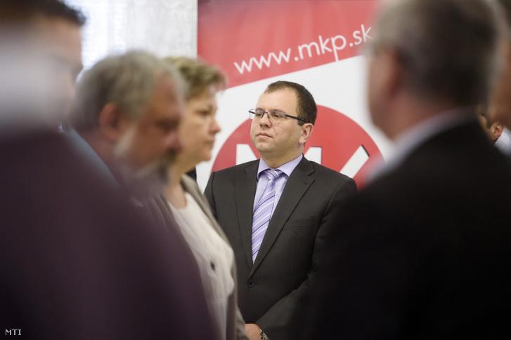 Õry Péter a Magyar Közösség Pártja (MKP) Országos Tanácsának (OT) elnöke