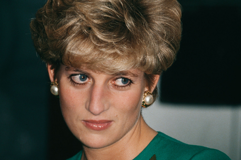 Diana hercegnő bikinis fotói - Így strandolt a szívek királynője