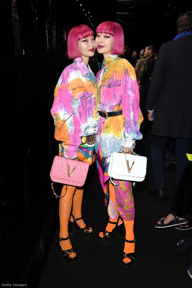 A Versace bemutatóján is megmutatták, hogy lelkileg-testileg mennyire közel állnak egymáshoz.