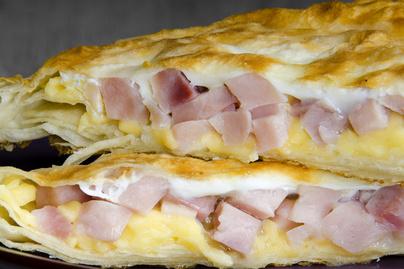 Villámgyors melegszendvics leveles tésztából – Ha nem szeretnénk pepecselni
