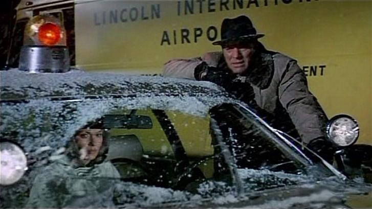Burt Lancaster és Jean Seberg az Airport című film jelenetében