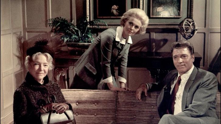 Burt Lancaster, Helen Hayes és Jean Seberg az Airport című filmben