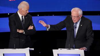 A szuperkedden csap össze Sanders és Biden