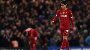 Gyorsan kapott még egy pofont a Liverpool