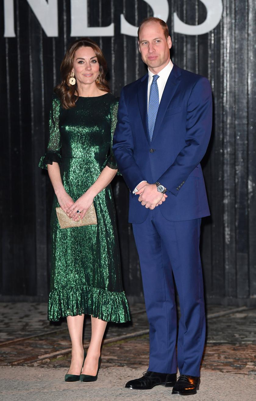 Katalin hercegné nagyon elegáns volt tegnap este a Guinness Storehouse sörfőzdében megrendezett eseményen.