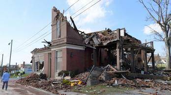 Tornádó Tennesseeben: 24-re emelkedett a halottak száma