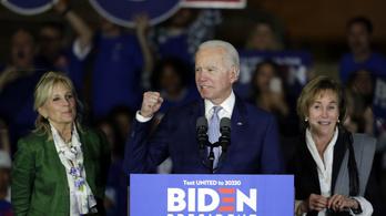 Biden átsöpört a szuperkedden