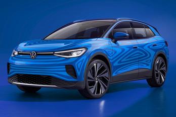 Ez itt az ID.4, a következő villany-VW