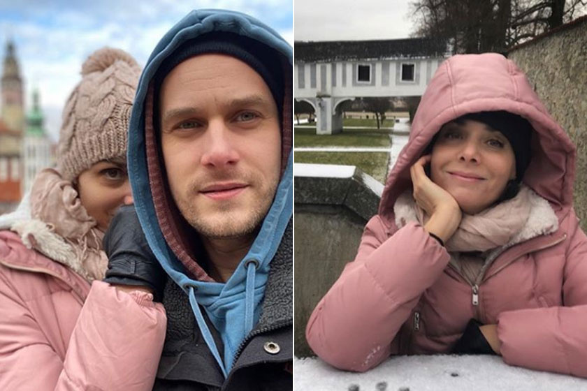 Ha tehetik, romantikus kirándulásokat tesznek, ahol le is fotózzák magukat. Ezeket Csehországban készítették.