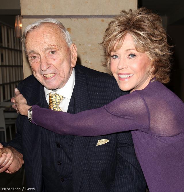 Gore Vidal és Jane Fonda 2011-ben