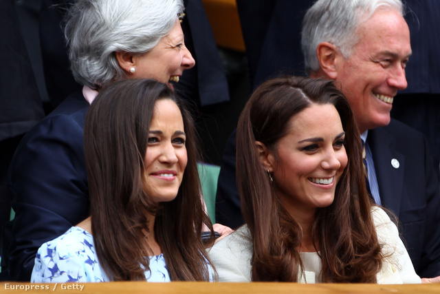 Pippa és Kate Middleton