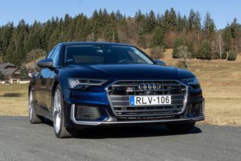 Audi S6: ilyen a legjobb dízel