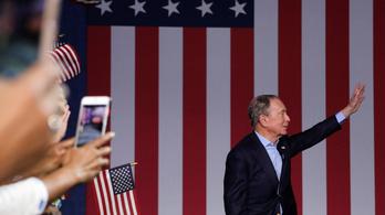 Visszalépett az elnökjelöltségtől Bloomberg
