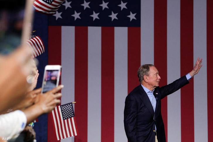 Michael Bloomberg 2020. március-án