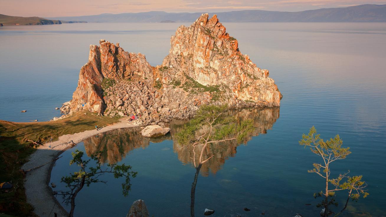 olhon sámán szikla